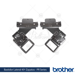 bastidor Brother PRCLP45LR lateral 45º zapatos linea PR