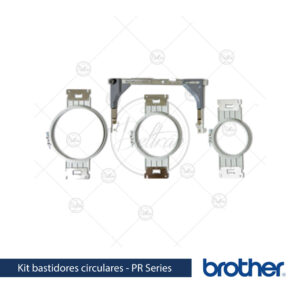kit bastidores circulares Brother PRPRFK1 linea PR