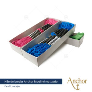 hilo de bordar anchor mouline coats casa beltran