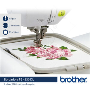 bordadora domestica brother pe830 disney casabeltran casa beltran