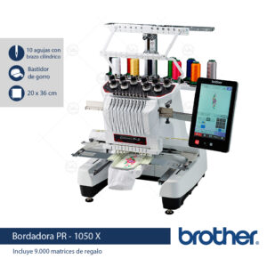 brother pr1050x bordadora semi industrial frente casa beltran casabeltran