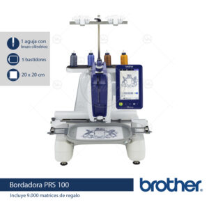 brother prs100 bordadora semi industrial casabeltran casa beltran